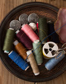 Instruments of repairman clothing — Photo