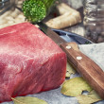 Slice of fresh,juicy beef — Stock Photo #31306561