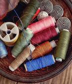 Rocchetti di filo — Foto Stock