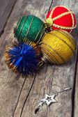 Zabawki z choinki — Zdjęcie stockowe