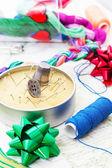 Dokuma ve nakış sanatı — Stok fotoğraf