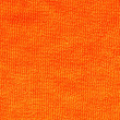 Terry textiles orange — Stock Photo