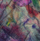 Textile fabric watercolor color code — Stock Photo
