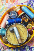 Cucito e ricamo — Foto Stock