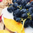 Stock Photo: Black grape