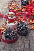 великолепные рождественские украшения — Стоковое фото