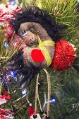 Koně vánoční ozdoba — Stock fotografie