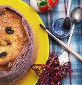 Easter homemade cakes — Stock Photo