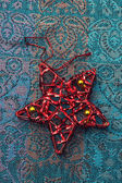 Toy bauble star — Foto Stock
