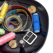 Sewing supplies and items — Stock Photo