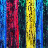 Textuur van de geschilderde houten planken — Stockfoto