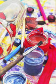 絵画のためのブラシのセット — ストック写真