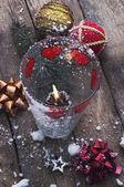Dekorace pro vánoční stromeček — Stock fotografie