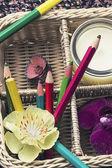 Lápices de dibujo — Foto de Stock