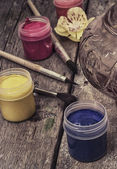 Paints old — Stock Photo