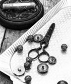 Tools for sewing — Stok fotoğraf