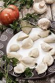 Meat dumpling — Stock Photo