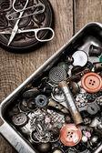 Strumento per cucire — Foto Stock
