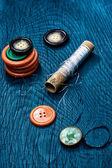 Konu ve düğmeler — Stok fotoğraf