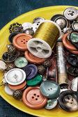 инструменты для шитья — Стоковое фото