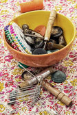 Sewing tools — Stockfoto