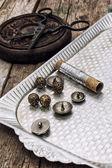 Strumenti per cucire — Foto Stock