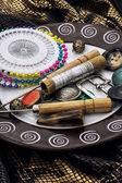 Nástroje pro šití — Stock fotografie