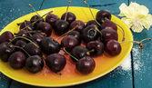 Cereza de fruta fresca — Foto de Stock