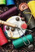 Other sewing tools — Stock Photo