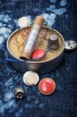 Items for needlework — Foto Stock