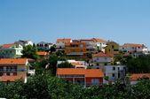 Casas modernas en hvar, croacia — Foto de Stock