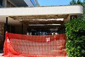 Broken concrete construction — Stock Photo