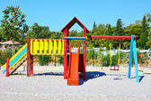 Playground in the park — Foto Stock