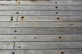 Grunge boat wooden flor — Stock Photo