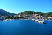 Port in Vis island — Stock Photo