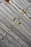 Grunge boat wooden flor — Stock Photo