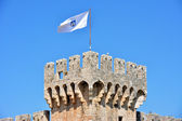 Kamerlengo castle in Trogir, Croatia. - architectural details — Stock Photo