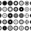 Gear wheels — Stock Vector #12358222