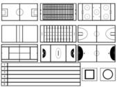 Stadiums — Stock Vector