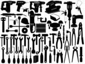 Tools illustration — Stock Vector