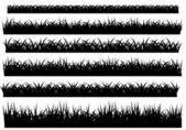 Grass illustration — Stock Vector