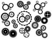 Gear wheels — Stock Vector
