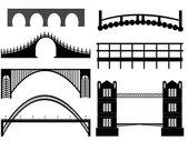 Bridge illustration — Stock Vector