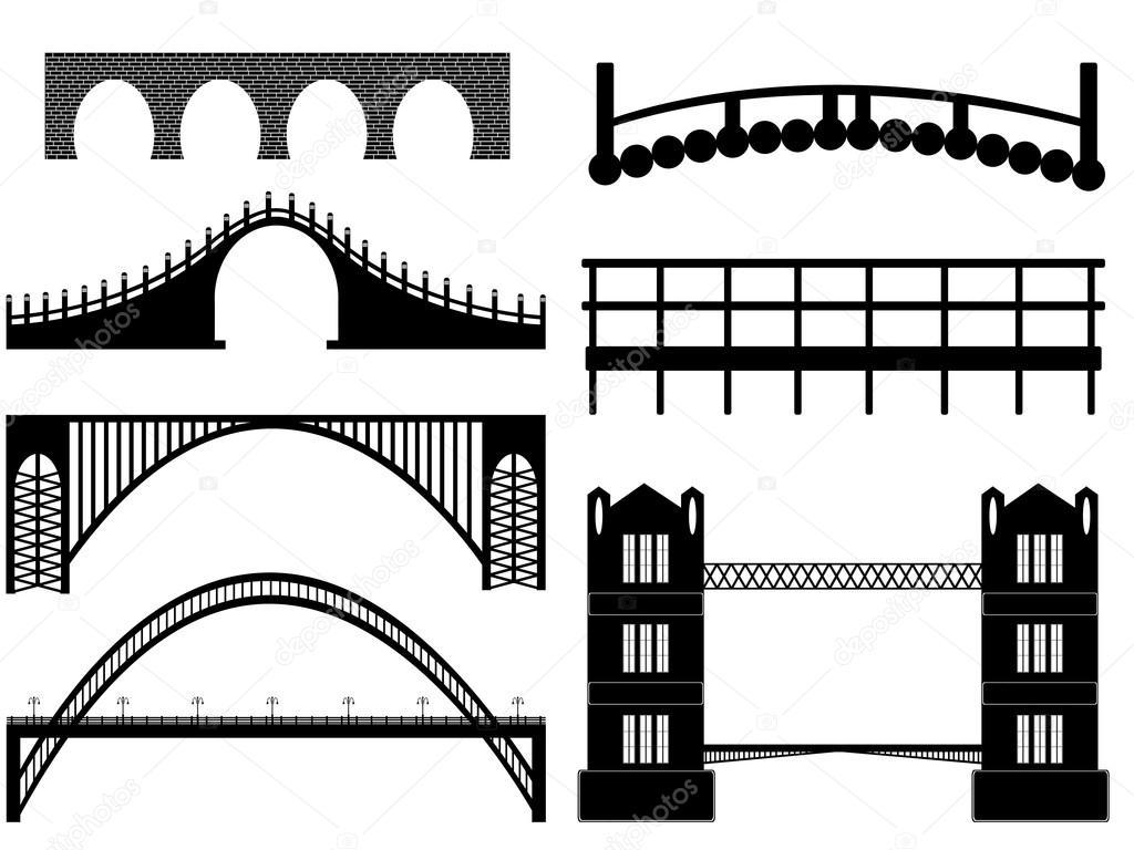 bridge illustration  u2014 stock vector  u00a9 photoefect  13518107
