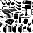 Royalty-Free Stock Imagen vectorial: Cigarettes, pipe and cigars