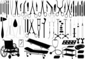 Medical tools — Stock Vector