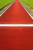 Long jump track — Stock Photo
