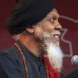 Dr. Lonnie Smith plays live — Stock Photo