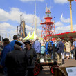 Stock Photo: Crowds on waterfront in Dordt in stoom