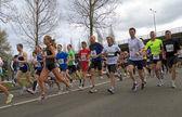 The start of the Dwars door Dort race — Stock Photo